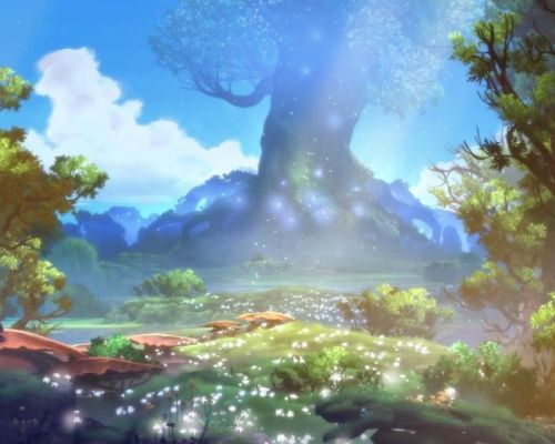 Ori and the Blind Forest Scenery