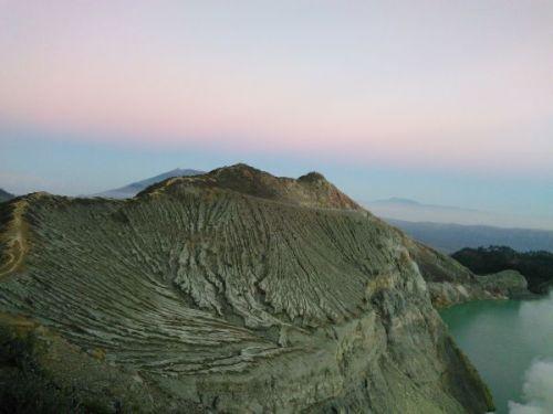 Puncak Gunung Ijen