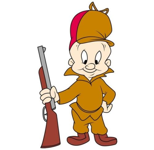 Elmer J Fudd looney tunes hunter