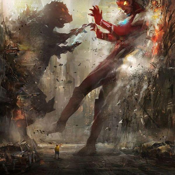 Ultraman Fight Kaiju