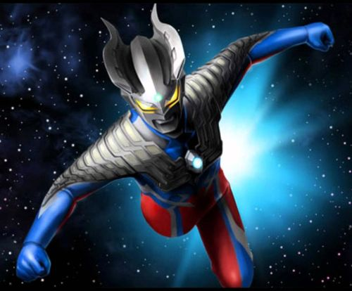 Ultraman in space