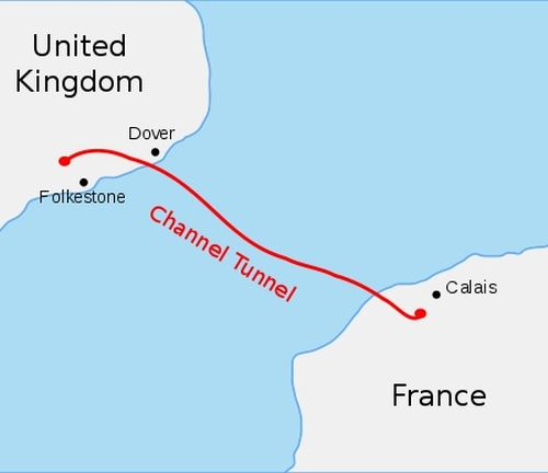 Channel Tunnel detail