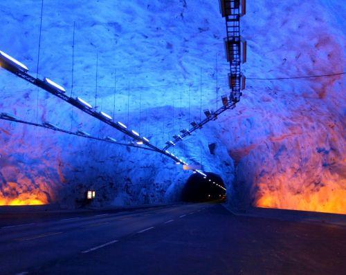 Norway Lærdal tunnel
