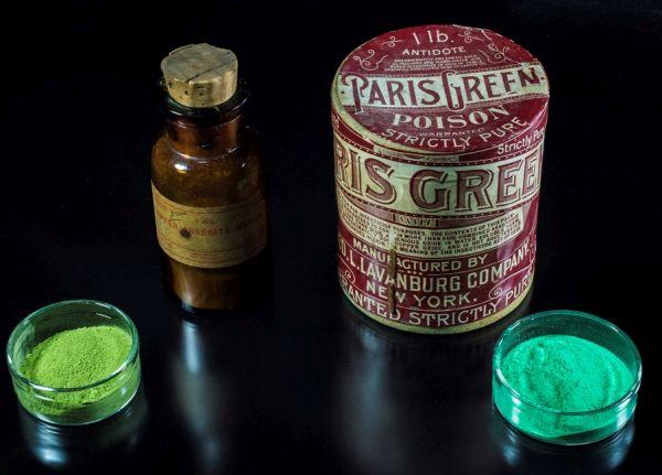 Scheele's Green dan Paris Green pewarna berbahaya