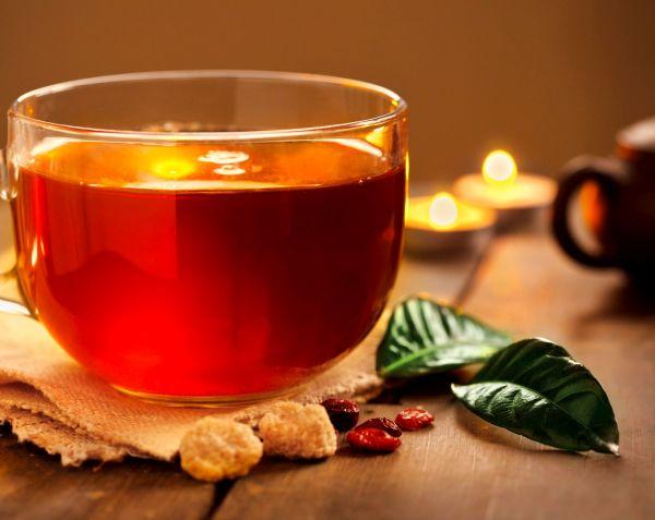 Tea drink green tea