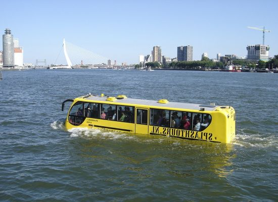amphibious bus tour