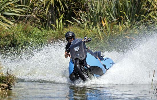 amphibious motorbike jetski