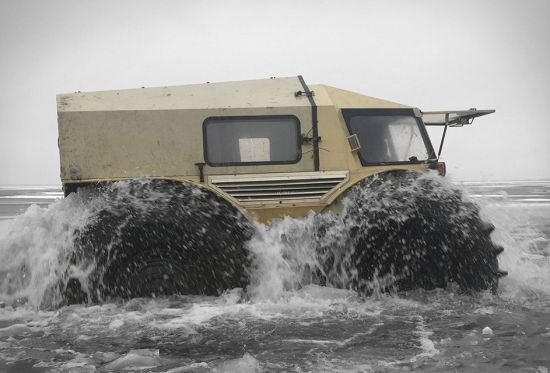 amphibious truck atv jeep