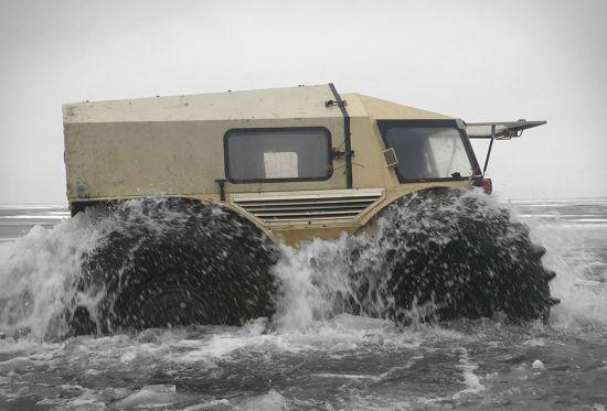 amphibious truck atv jeep