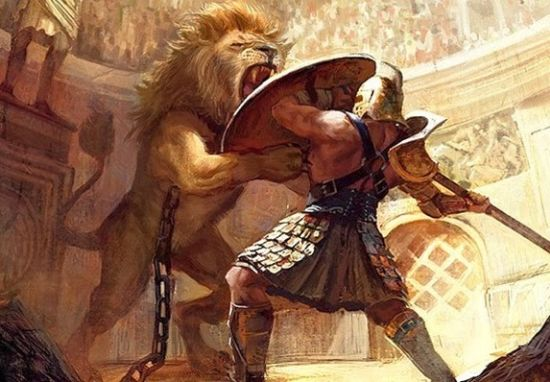 Carpophorus roman gladiator