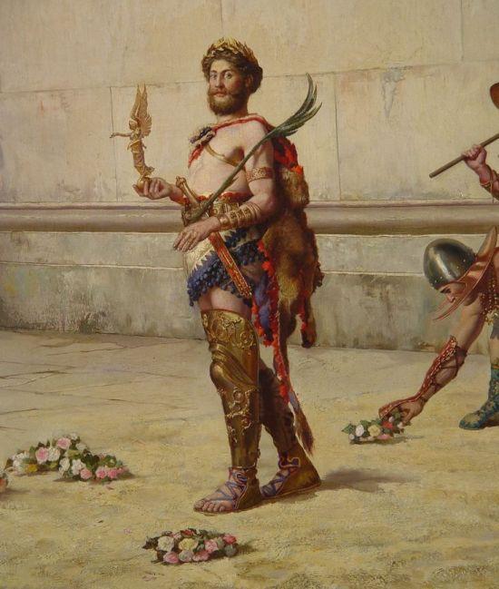 Commodus gladiator rome emperor